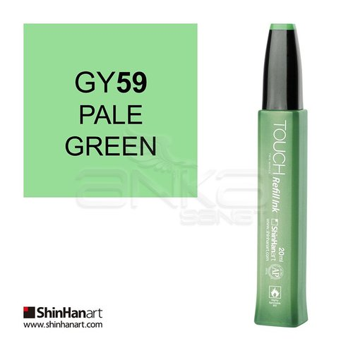 Touch Twin Marker Refill İnk 20ml GY59 Pale Green