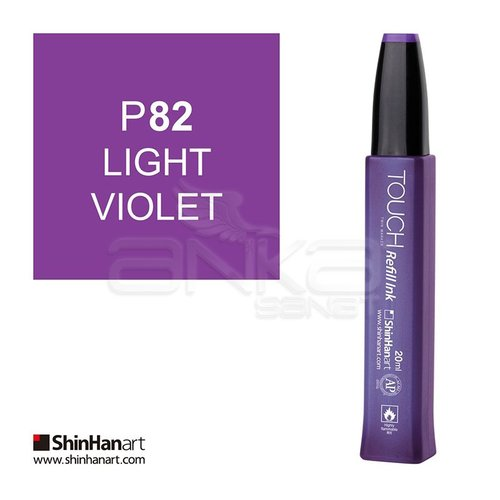 Touch Twin Marker Refill İnk 20ml P82 Light Violet