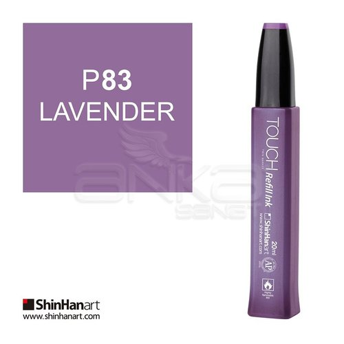 Touch Twin Marker Refill İnk 20ml P83 Lavender