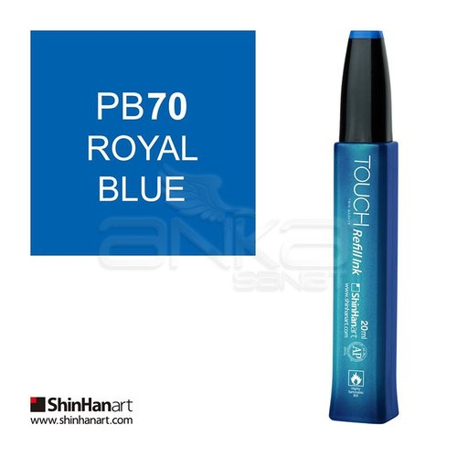 Touch Twin Marker Refill İnk 20ml PB70 Royal Blue