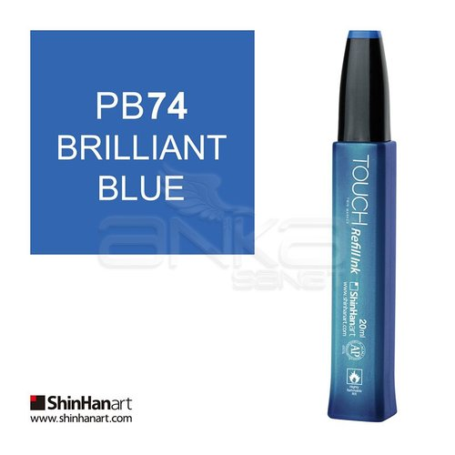 Touch Twin Marker Refill İnk 20ml PB74 Brilliant Blue