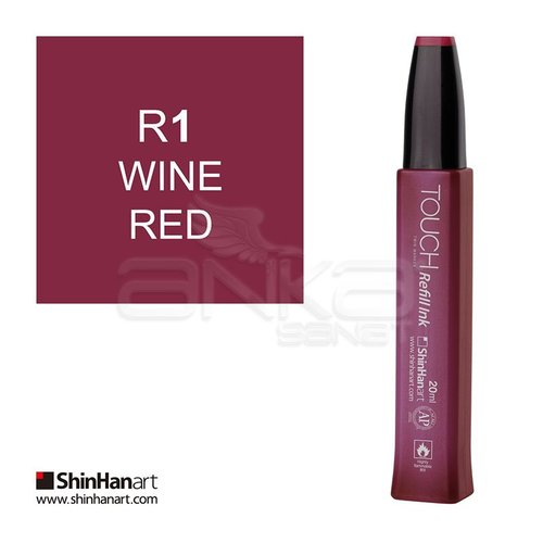 Touch Twin Marker Refill İnk 20ml R1 Wine Red