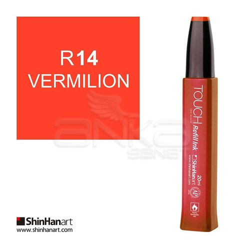 Touch Twin Marker Refill İnk 20ml R14 Vermilion