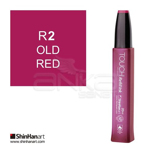 Touch Twin Marker Refill İnk 20ml R2 Old Red