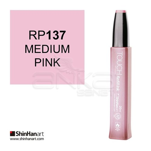 Touch Twin Marker Refill İnk 20ml RP137 Medium Pink