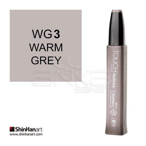 Touch Twin Marker Refill İnk 20ml WG3 Warm Grey