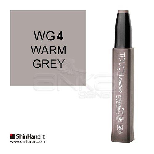 Touch Twin Marker Refill İnk 20ml WG4 Warm Grey
