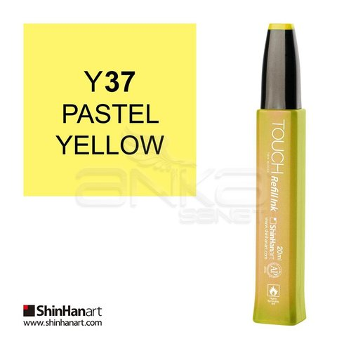Touch Twin Marker Refill İnk 20ml Y37 Pastel Yellow