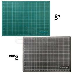 Transotype - Transotype Kesim Pedi Yeşil/Siyah 100x150cm