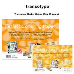 Transotype - Transotype Marker Kağıdı 250g 50 Yaprak
