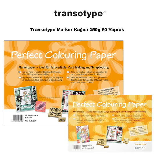 Transotype Marker Kağıdı 250g 50 Yaprak