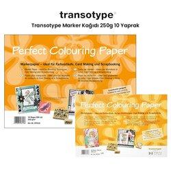 Transotype - Transotype Marker Kağıdı 250g 10 Yaprak