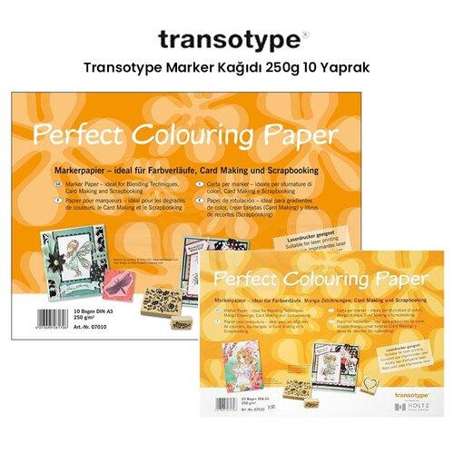 Transotype Marker Kağıdı 250g 10 Yaprak