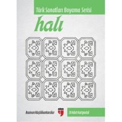 Anka Art - Türk Sanatları Boyama Serisi Halı (1)