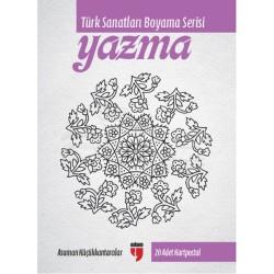 Anka Art - Türk Sanatları Boyama Serisi Yazma (1)