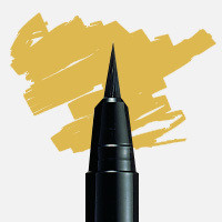 Uni Posca Fırça Uçlu Marker PCF-350 Gold - Gold