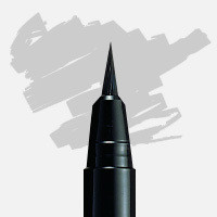 Uni Posca Fırça Uçlu Marker PCF-350 Gümüş - Gümüş