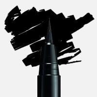 Uni Posca Fırça Uçlu Marker PCF-350 Siyah - Siyah