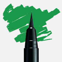 Posca - Uni Posca Fırça Uçlu Marker PCF-350 Yeşil