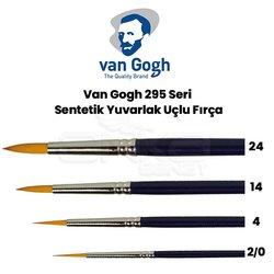 Van Gogh 295 Seri Sentetik Yuvarlak Uçlu Fırça - Thumbnail