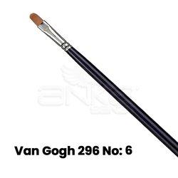 Van Gogh 296 Seri Sentetik Kedi Dili Fırça - Thumbnail