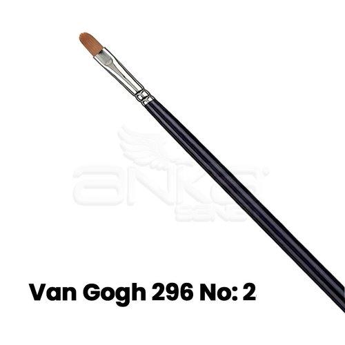 Van Gogh 296 Seri Sentetik Kedi Dili Fırça