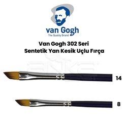 Van Gogh - Van Gogh 302 Seri Sentetik Yan Kesik Uçlu Fırça
