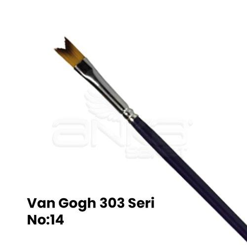 Van Gogh 303 Seri Sentetik V Tipi Fırça