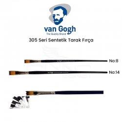 Van Gogh - Van Gogh 305 Seri Sentetik Tarak Fırça