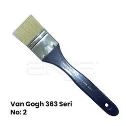 Van Gogh - Van Gogh 363 Seri Beyaz Kıl Vernik Fırçası (1)