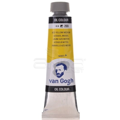 Van Gogh 40ml Yağlı Boya Seri:1 No:269 Azo Yellow M - 269 Azo Yellow M