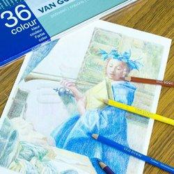 Van Gogh - Van Gogh Kuru Boya Kalemi 36lı Set (1)