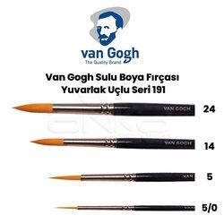Van Gogh - Van Gogh Sulu Boya Fırçası Yuvarlak Uçlu Seri 191