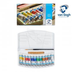 Van Gogh - Van Gogh Sulu Boya Seti 12 Renk Tüp