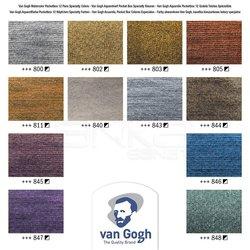 Van Gogh Sulu Boya Seti 12 Metalik Renkler Defterli - Thumbnail