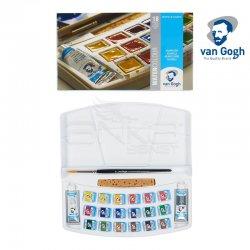Van Gogh - Van Gogh Sulu Boya Seti 18li Yarım Tablet
