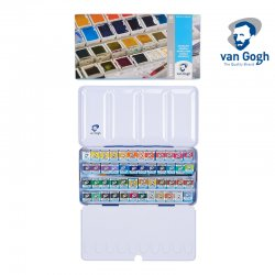 Van Gogh - Van Gogh Sulu Boya Seti 48li Yarım Tablet