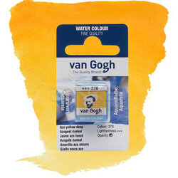 Van Gogh - Van Gogh Tablet Sulu Boya Yedek Azo Yellow D 270