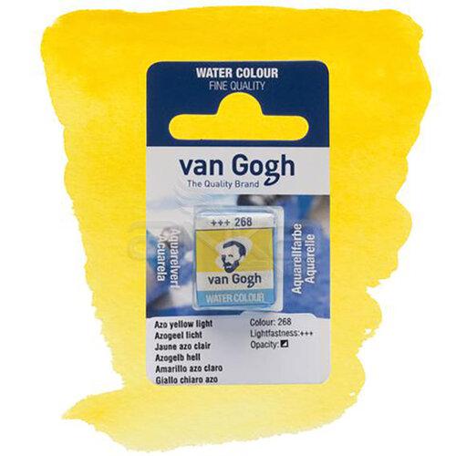 Van Gogh Tablet Sulu Boya Yedek Azo Yellow Light 268 - 268 Azo Yellow Light