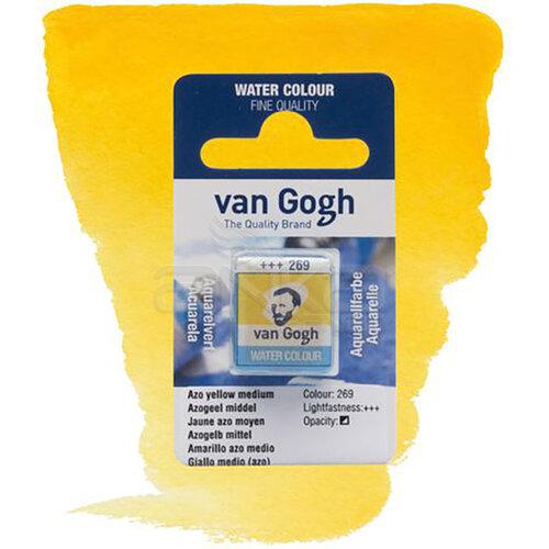 Van Gogh Tablet Sulu Boya Yedek Azo Yellow M 269 - 269 Azo Yellow M