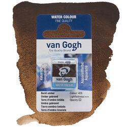 Van Gogh - Van Gogh Tablet Sulu Boya Yedek Burnt Umber 409