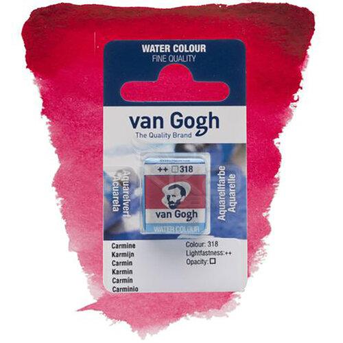 Van Gogh Tablet Sulu Boya Yedek Carmine 318 - 318 Carmine