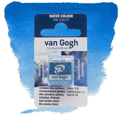 Van Gogh Tablet Sulu Boya Yedek Cerulean Blue 535 - 535 Cerulean Blue