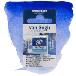 Van Gogh - Van Gogh Tablet Sulu Boya Yedek Cobalt Blue Ultram 512