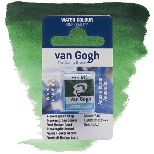 Van Gogh Tablet Sulu Boya Yedek Hooker Green D 645 - 645 Hooker Green D
