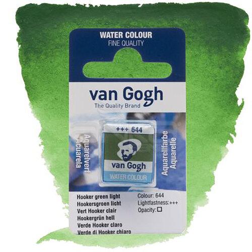 Van Gogh Tablet Sulu Boya Yedek Hooker Green Light 644 - 644 Hooker Green Light