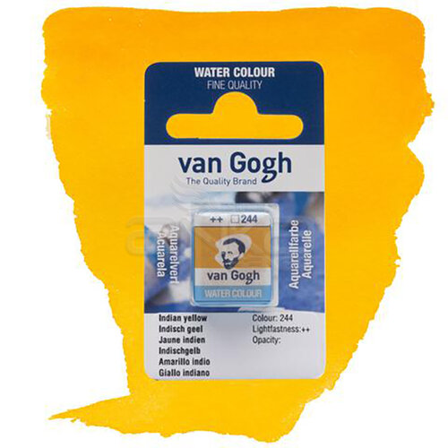Van Gogh Tablet Sulu Boya Yedek İndian Yellow 244 - 244 İndian Yellow