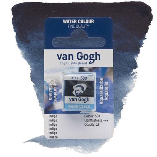 Van Gogh Tablet Sulu Boya Yedek Indigo 533 - 533 Indigo