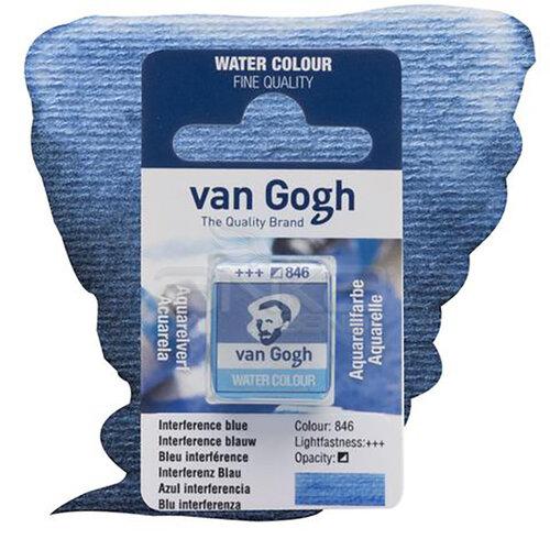 Van Gogh Tablet Sulu Boya Yedek İnterference Blue 846 - 846 İnterference Blue