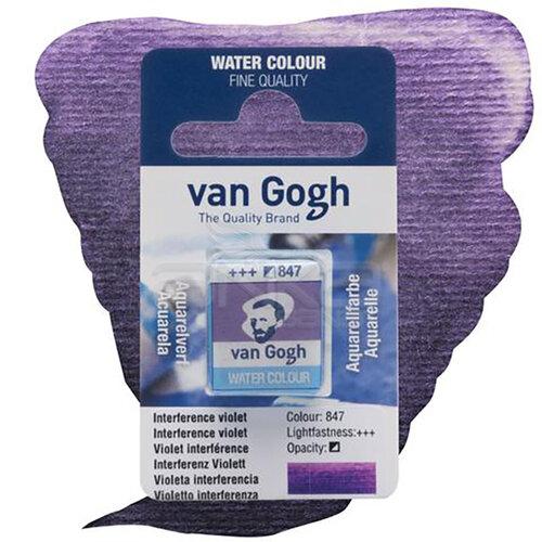 Van Gogh Tablet Sulu Boya Yedek İnterference Violet 847 - 847 İnterference Violet